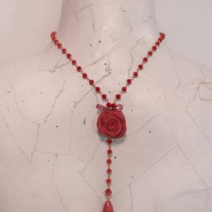 Collana Siam Rose