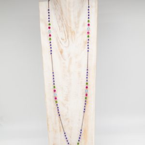 Collana lunga blue zaphire