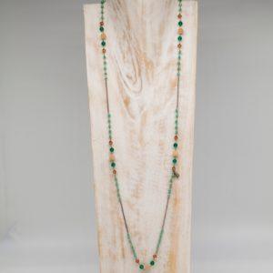 Collana lunga natural Tiffany